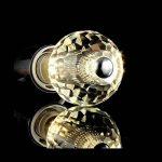 Ampoule LED E27 de Qualité Supérieure, à Pure et Solide Petite Vis type Edison K9 et à Verre Cristal, 5W (50W), Blanc Chaud – Nid-D'abeilles de la marque YAYZA! image 2 produit