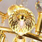 Ampoule LED E27 de Qualité Supérieure, à Pure et Solide Petite Vis type Edison K9 et à Verre Cristal, 5W (50W), Blanc Chaud – Nid-D'abeilles de la marque YAYZA! image 3 produit