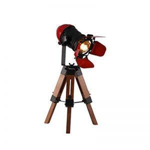Américain Rétro Trépied Lampe De Table Pour Salon Chambre Chevet Bureau Lumière Décor Home Desktop Spotlight E27 110-240V de la marque KMYX image 0 produit