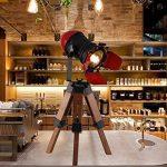 Américain Rétro Trépied Lampe De Table Pour Salon Chambre Chevet Bureau Lumière Décor Home Desktop Spotlight E27 110-240V de la marque KMYX image 2 produit