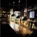 AOGUERBE Suspension Vintage,Métal Retro Plafonnier Luminaire Industrielle Lustres Lampe Pendante Interface E27 Support de Lampe Déco Atmosphère Eclairage pour Bar Café Cuisine Grenier Club [Rouille] de la marque AOGUERBE image 4 produit