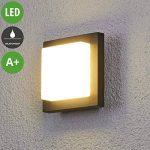 Applique d'extérieur LED Celeste au design simple de la marque Lampenwelt image 1 produit