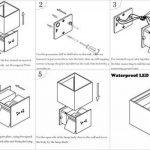 applique extérieur led design TOP 8 image 4 produit