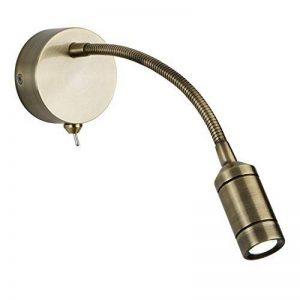 Applique/liseuse LED, laiton antique de la marque Searchlight image 0 produit
