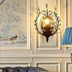 Applique murale en cristal de décoration LED DPG Lighting pour chambre à coucher, salon. (Ampoule non incluse) de la marque DPG Lighting image 1 produit