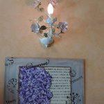 Applique Murale Intérieure Design Floral en Métal Blanc Doré avec Lampe Bougie décorée de Fleurs et Feuilles pour Chambre Salon Couloir 1x40W E14 de la marque MW-Light image 3 produit