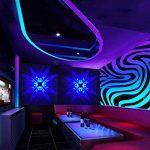 Applique Murale LED 3W Design Original 4 papillons - Bleu de la marque uksunvi image 1 produit