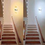 Applique Murale LED 6W Lampe Moderne Design Up and Down Luminaires Muraux Intérieurs Dimmable par le commutateur de mur Lampe Murale Acrylique Night Light 3 Température de Couleur en 1 (Blanc chaud, Blanc doux ou Blanc froid) de la marque ChangM image 3 produit