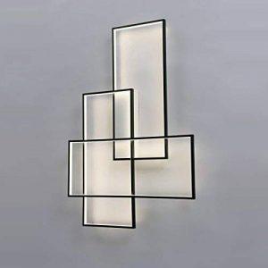Applique Murale LED Appliques Designer Eclairage Rectangle Aluminium Salon Lit Escalier Applique Murale (Couleur : White light 4500K) de la marque William 337 image 0 produit