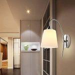 Applique Murale LED Style Simple Moderne Decorative Lampe Murale pour Chambre Couloir Chevet Salle-- Série Minimalisme I de la marque Luniquz image 1 produit