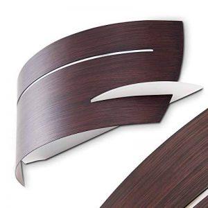 Applique murale Novara métal brun design moderne de la marque hofstein image 0 produit