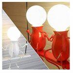 Applique murale pour enfants Applique Murale Style Industriel miroir lampe appliques lampes E27 pour pour Décoration de Maison , Bar ,Restaurants, Café, Club Loft Chambre à coucher Office Home Décoration lumineuse Transparent de la marque Azanaz image 2 produit