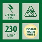 Applique murale Smartwares 5000.466 Kimi – LED – Acier inoxydable de la marque RANEX image 4 produit