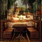 Applique Rustique Applique Murale Industrielle Interieur Cage Lampe Suspension vintage Luminaire pour Maison de Champagne Café Loft Cuisine Salon et chambre d'hôtel (Métal, bronze, ampoules non comprises) de la marque GLADFRESIT image 1 produit