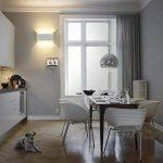 Appliques Murales Interieur LED Lampe 8w étanche Moderne Applique Murale en Aluminium Blanc pour Chambre Maison Couloir Salon (Blanc Chaud) de la marque NetBoat image 3 produit