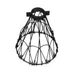 Asvp Shop Cage pour ampoule Fil de laiton - Pince de fixation sur la lampe Style industriel vintage - Noir , Métal, Noir , Taille unique de la marque ASVP SHOP image 2 produit
