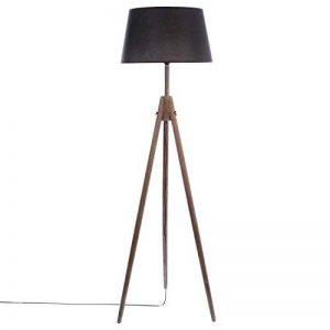 Atmosphera Lampadaire Bois Miry - Hauteur 153 cm - Noir de la marque Atmosphera image 0 produit