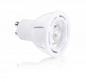 Aurora Ampoules LED 6W GU10Premium Aone Blanc neutre 4000K équivalent 50W–Ampoule Taille parfaite de la marque Aurora image 0 produit