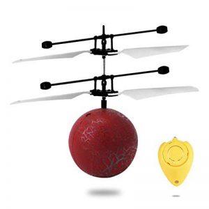 Avion de contrôle à Distance, Rc Induction Infrarouge Suspension hélicoptère Avions coloré Flying Ball Fissure intégré Clignotant LED éclairage Jouet pour Les Enfants de la marque Bellaluee image 0 produit