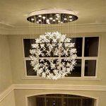 AWCP Lustre - Lustre en Cristal de l'année prospère - Lustre - n'importe Quel lampadaire en Duplex au rez-de-chaussée Éclairage Villa Escalier de Luxe Suspendu à la chaîne Chambres romantiques Gu10 L de la marque AWCP image 1 produit