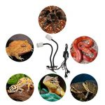 B Blesiya E27 Lampe Céramique à Deux Têtes Utilisez Jour et Nuit, Abat-Jour de Lampe pour Tortue Lézard Araignée Reptile Plante de la marque B Blesiya image 2 produit