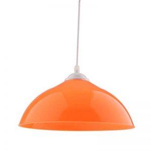 B Blesiya Lustre de Chambre Lampe Suspension de Mural Abat-jour en PVC Décor - Orange de la marque B Blesiya image 0 produit