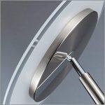 B.K. Licht lampadaire à vasque LED, lampadaire avec liseuse flexible, fonction TOUCH, luminaire salon salle à manger, éclairage intérieur, 230V, IP20, 21W, hauteur 1795mm de la marque B.K.Licht image 4 produit