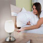 B.K. Licht lampe de chevet tactile 3 intensités, lampe de chevet dimmable, lampe à poser avec fonction Touch, lampe à lecture, éclairage chambre, 3 niveaux de luminosité, douille E14, 230V, IP20 de la marque B.K.Licht image 2 produit