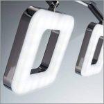 B.K. Licht plafonnier LED 3 spots orientables, spots plafond modernes, plafonnier salon bureau salle à manger cuisine couloir, lumière blanche chaude, 230V, IP20, 3x4W de la marque B.K.Licht image 2 produit