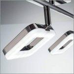 B.K. Licht plafonnier LED 3 spots orientables, spots plafond modernes, plafonnier salon bureau salle à manger cuisine couloir, lumière blanche chaude, 230V, IP20, 3x4W de la marque B.K.Licht image 3 produit
