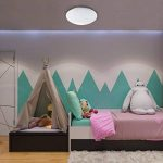 B.K. Licht plafonnier LED, effet scintillant, lumière étoile, lampe pour chambre couloir salon, éclairage intérieur, 12W, blanc froid, 230V, IP20, Ø 290 mm de la marque B.K.Licht image 2 produit