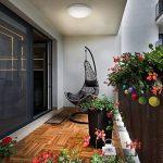 B.K. Licht plafonnier LED salle de bain, lampe moderne design épuré, éclairage intérieur plafond, 230V, IP44, 12W, IP44, Ø 290mm de la marque B.K.Licht image 3 produit