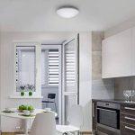 B.K. Licht plafonnier LED salle de bain, lampe moderne design épuré, éclairage intérieur plafond, 230V, IP44, 12W, IP44, Ø 290mm de la marque B.K.Licht image 4 produit