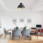 B.K. Licht suspension design industriell, plafonnier vintage, luminaire intérieur design cuisine salon salle à manger restaurant, E27, 230V, IP20, max. 60W, Ø 310 mm de la marque B.K.Licht image 3 produit