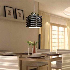 BAJIAN-LI Lampe à Suspension 60W en Noir Plastique Abat Jour Mini Lampe à Plafonnier de la marque BAJIAN-LI image 0 produit