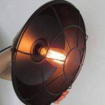 BAYCHEER Suspension Chandelier Abat-jour en Métal avec Grille Lampe Style Rétro Industriel Eclairage Decoratif -B de la marque BAYCHEER image 2 produit