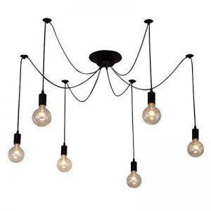 BAYCHEER Suspension Luminaire Réglable Lustres Moderne Pendante Lampe Plafonnier 6 culot E27 Douille de la marque BAYCHEER image 0 produit