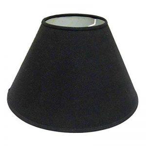 Better & Best 0205124–écran de lampe de coton, avec pince de fixation pour ampoules type bougie, de 12cm, lisse, couleur noir de la marque Better & Best image 0 produit