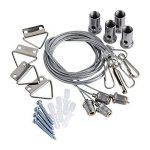 Biard - Pack de 4 Câbles Tendus pour Plafonnier LED Suspendu - 60x60cm de la marque Biard image 1 produit