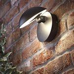 Biard Piombino Luminaire LED 13W Applique Murale Angle d'Éclairage Ajustable Intérieur ou Extérieur Jardin Design Rond & Noir Original de la marque Biard image 1 produit