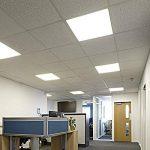 Biard Plafonnier LED - Dalle Lumineuse 60x60cm - Cadre Gris - Panneau Basse Consommation 36W - Blanc Naturel de la marque Biard image 1 produit