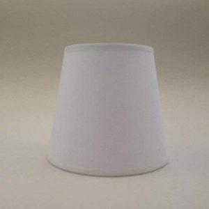 Blanc Petite bougie à clipser Abat-jour Lustre Plafonnier Applique murale Abat-jour fait main Tissu de coton de la marque ArG Lighting image 0 produit