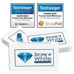 Blanchiment dentaire prémium White Stripes - Sans douleur - Double champion des tests - Eclaircissement des dents - Blanchiment des dents - Dents blanches (28 White Stripes) de la marque SNOWW WHITE Premium Teeth Whitening image 1 produit