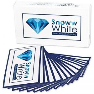 Blanchiment dentaire prémium White Stripes - Sans douleur - Double champion des tests - Eclaircissement des dents - Blanchiment des dents - Dents blanches (28 White Stripes) de la marque SNOWW WHITE Premium Teeth Whitening image 0 produit