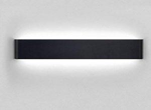 Bloomwin Applique Murale, Intérieur LED Moderne Lampe 48cm 18w 1200lm Lumières Eclairage Décoratives LED Lampe de mur pour Chambre/Escalier/Sallon/Bureau/Porche/Passerelle/Bar de la marque image 0 produit