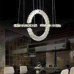 BMEI Salle à manger moderne de luxe Lustre en cristal LED Lustre de luxe Pendentif suspendu Luminaire de plafond à domicile de la marque BMEI * Plafonniers salon image 2 produit