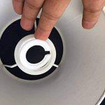 boîte de 5 e27 à e14 ring convertisseur, facile à poser sur les abat - jour de la marque Doooitlight image 2 produit