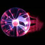 Boule de plasma 3 Inch magique sensible tactile Cristal Sphère Lumière de la sphère Gadgets de jouets Globe Lampe rétro Fun Mains Operated Gift our les décor, la chambre à coucher, la maison,enfants de la marque Yxaomite image 2 produit