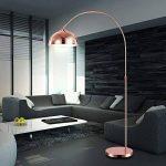 Bow stand cuivre lampe hauteur réglable du jeu y compris les ampoules LED 10W de la marque etc-shop image 2 produit