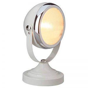 Brilliant 04347/75 Rider Lampe à Poser 28 W E14 230 V Crème Poli/Chrome de la marque Brilliant image 0 produit